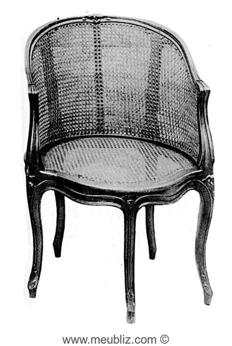pied de fauteuil de bureau fauteuil de bureau gondole louis xv canné à cinq pieds