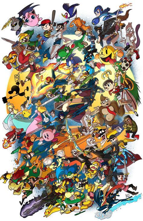 Super Smash Bros On Deviantart