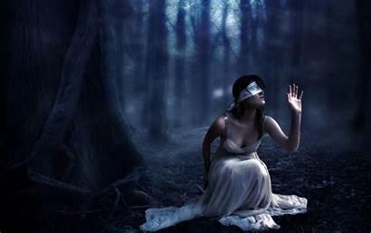 Gothic Wallpapers Scary Fantasy Dark Blind Artwork