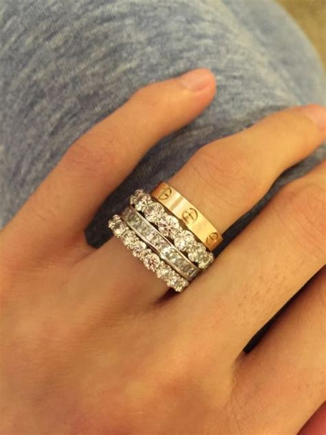 image result for cartier love ring stack cartier in 2019 cartier love ring jewelry cartier