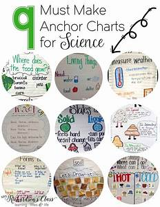 9 Must Make Anchor Charts For Science