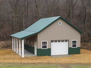 10 best images about barns on pinterest metal building With 24x32 pole building