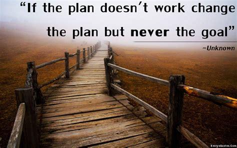 plan doesnt work change  plan