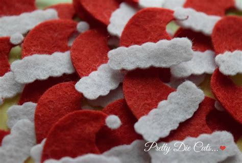 felt santa hats mini red felt christmas hats christmas felt