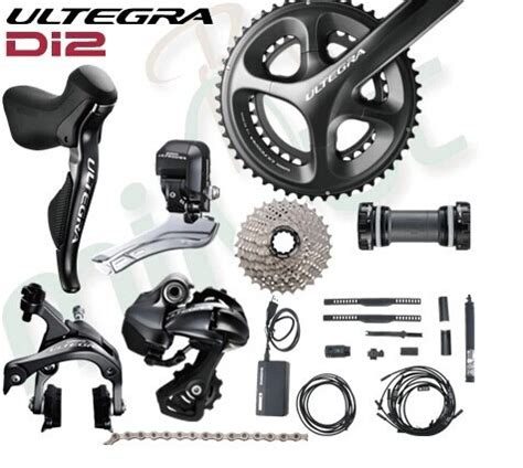 shimano ultegra di2 electronic 6870 11 speed 170 172 5mm 50 34t 52 36t 46 36t groupset set