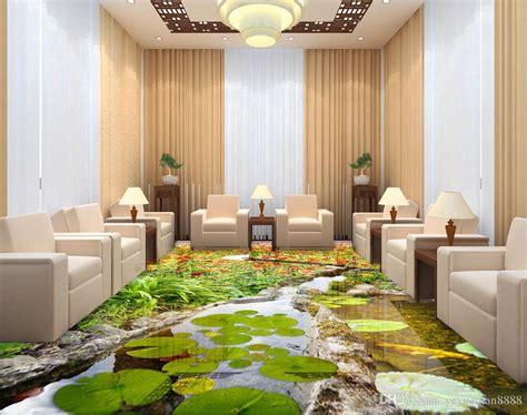 vinyl flooring customized photo wallpaper sea world