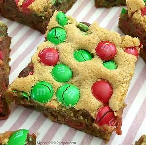 Light S Day Desserts Thick Chewy M M Cookie Bars