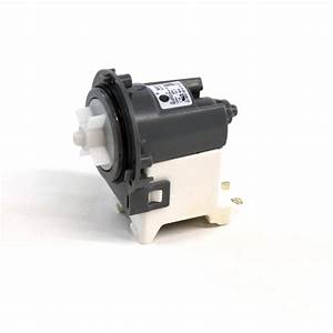 Washer Drain Pump Motor And Impeller