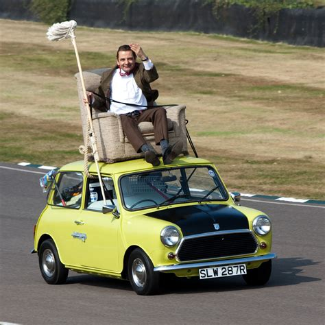 Someone Just Spent £8 Million On Mr Bean's Twice-Crashed