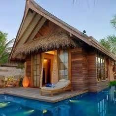 nipa huts  pinterest philippines bamboo  rest house