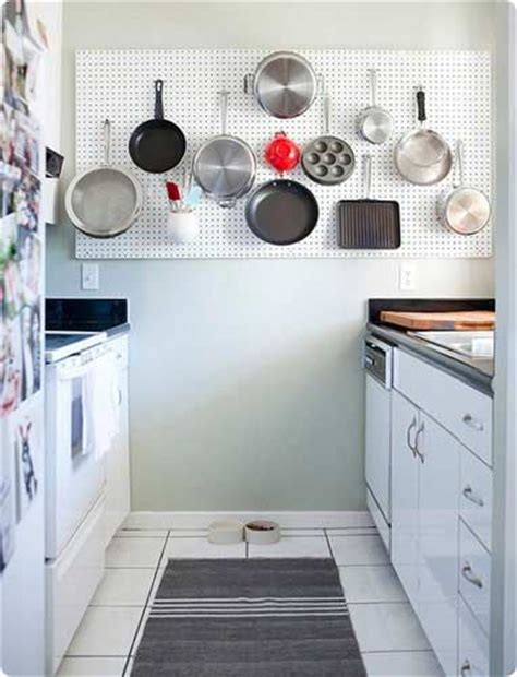 kitchen pegboard ideas free up storage space in cupboards by a wall mounted
