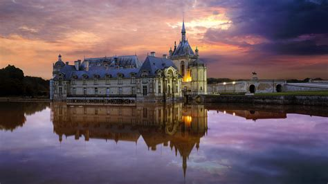Chateau Chantilly France Bing Wallpaper Download