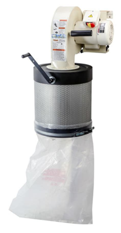 grizzly adds wall mounted dust collector woodshop news