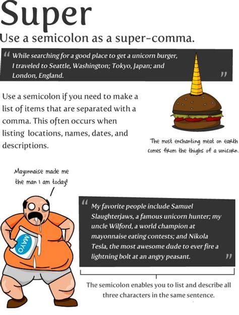 How To Use A Semicolon! (9 Pics) Izismilecom