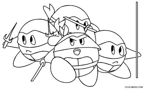 printable kirby coloring pages  kids coolbkids