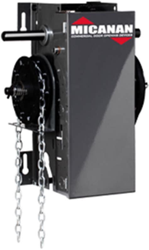 micanan pro lh light duty hoist commercial garage door opener chain hoist jackshaft