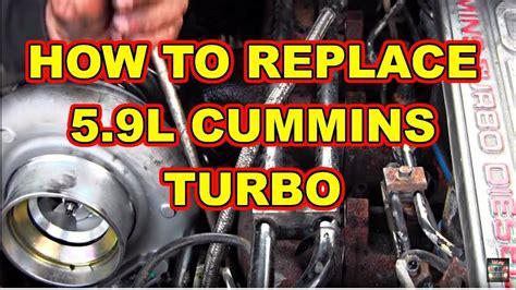 turbo replacement dodge ram  cummins diesel