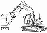 Excavator Coloring Digger Pages Bulldozer Clipart Colouring Sketch Truck Cat Diggers Mini Drawing Patrol Paw Inspired Futurama Paintingvalley Webstockreview Entitlementtrap sketch template