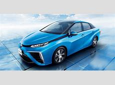Toyota Mirai hydrogen fuelcell vehicle detailed in full
