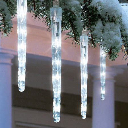 Holiday Time Battery Operated 8piece Led Dripping Icicle