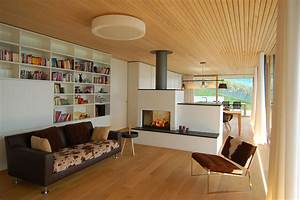 Contemporary, Single, Family, Home, In, Liechtenstein, By, K, M