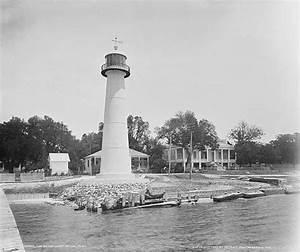 Light Tower Images Biloxi Lighthouse Mississippi At Lighthousefriends Com