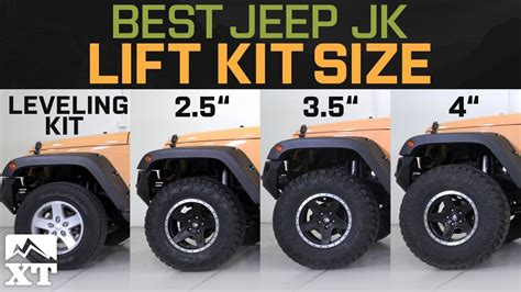jeep wrangler jk leveling kit         select   jeep lift kit youtube