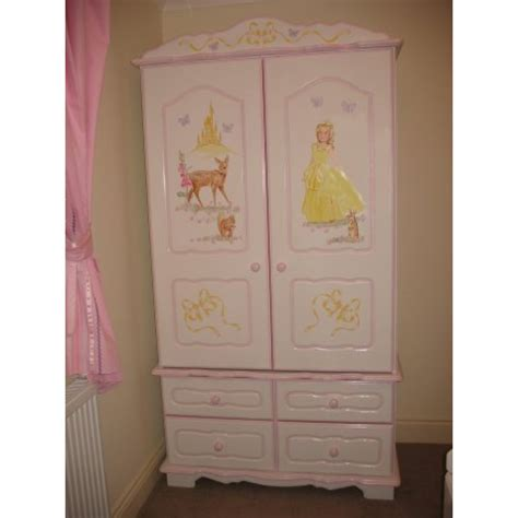 girls wardrobe  door  drawer princess
