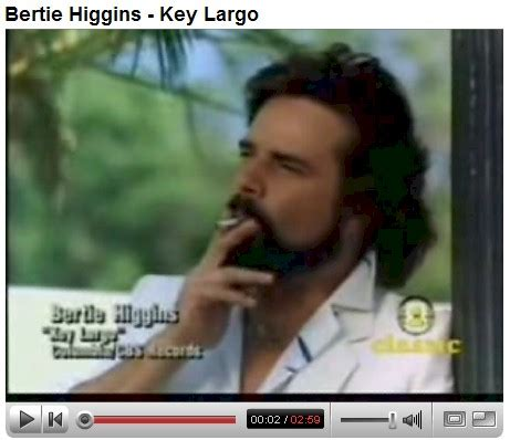 bertie higgins key largo   member   roemans