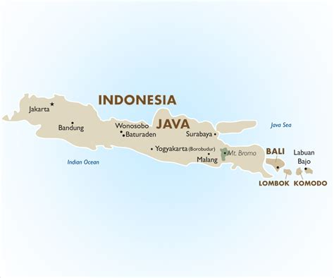 indonesia geography  maps goway travel