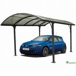 Carport 3 X 4 : carport aluminium pour 1 voiture 3 x 4 8 m car3048alrp foresta bricozor ~ Whattoseeinmadrid.com Haus und Dekorationen