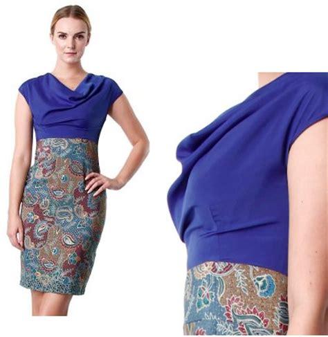 dress cantika model dress batik terbaru cantikita