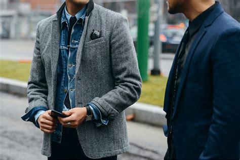 Denim Street Style Roundup Mens Fashion Week Eat