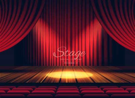 Stage Curtains Vectors, Photos And Psd Files  Free Download