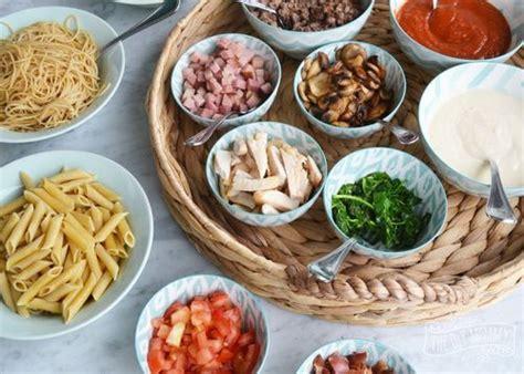 id 233 e de repas de communion ou confirmation pas cher un pasta bar buffet de p 226 tes