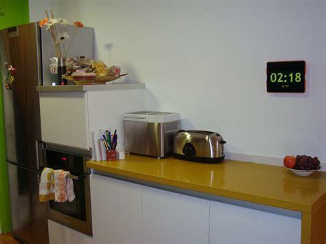 horloge cuisine horloge digital pour cuisine idées décoration intérieure