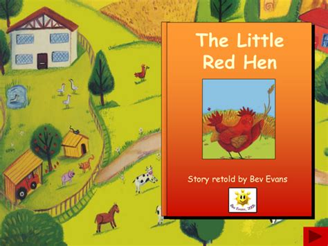 The Little Red Hen Traditional Tales Collection By
