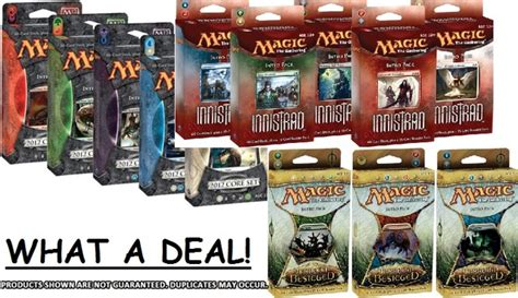 Magic The Gathering Premade Decks Ebay by 3 Random Mtg Preconstructed Decks Magic Products 187 Mtg