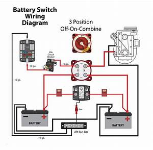 Marine Battery Switch Wiring Diagram