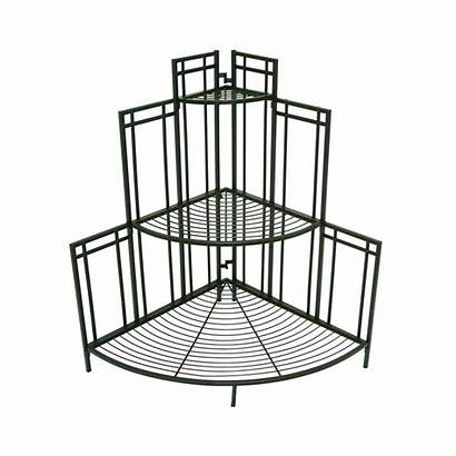 Plant Outdoor Planter Stands Depot Corner Stand