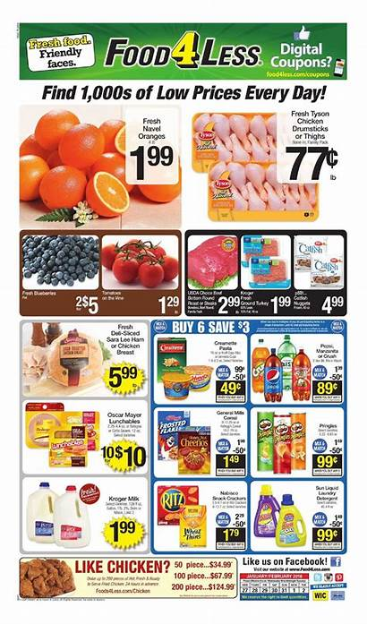 Less Weekly Ad Ads Grocery Flyer Sneak