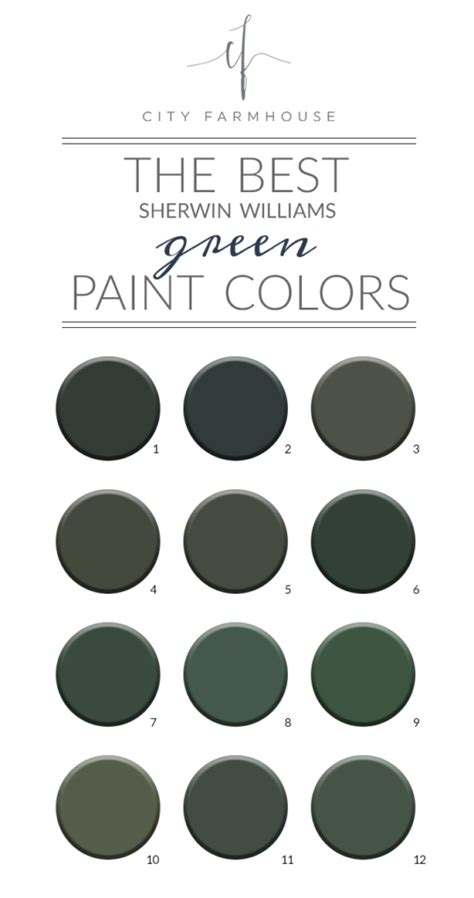 the best sherwin williams green paint colors credenza update city farmhouse