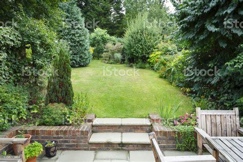 English Back Garden Stock Photo - Download Image Now - iStock