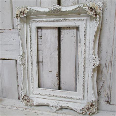 large white shabby chic picture frame shop shabby chic wall frames on wanelo