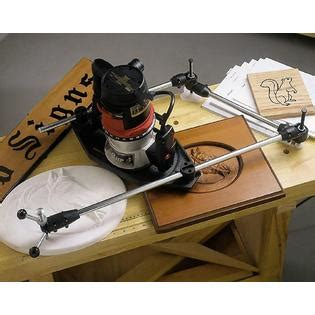 craftsman deluxe router pantograph