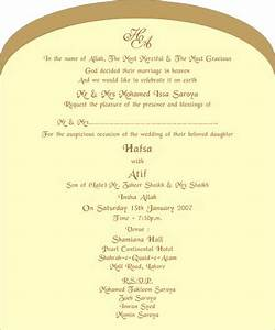 muslim wedding invitations wedding love pinterest With format of muslim wedding invitation card