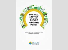 Strategic Return on Investment of your CSR Projects