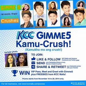 KCC Malls - KCC GIMME 5 KAMU-CRUSH
