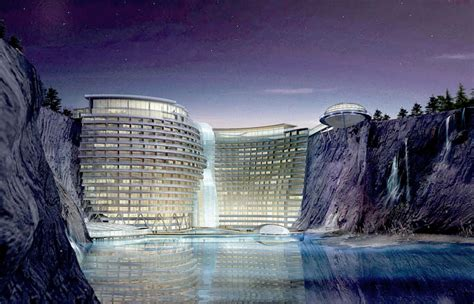 songjiang hotel construction begins  chinese eco resort