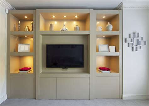 Cupboards Designs For Living Room by 15 Ideas Of Fitted Wall Units Living Room